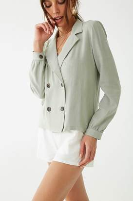 Forever 21 Double-Breasted Blazer