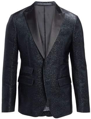 DSQUARED2 London Fit Silk Lame Classic Blazer