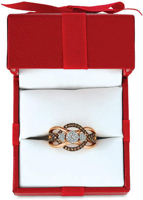 Le Vian Chocolatier Diamond Ring (3/8 ct. t.w.) in 14k Rose Gold $2,800 thestylecure.com