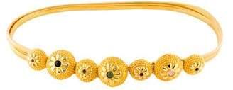 Judith Leiber Chain-Link Waist Belt