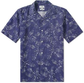 Hartford Slam Palm Linen Shirt