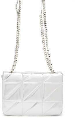 Forever 21 Quilted Chain-Strap Shoulder Bag