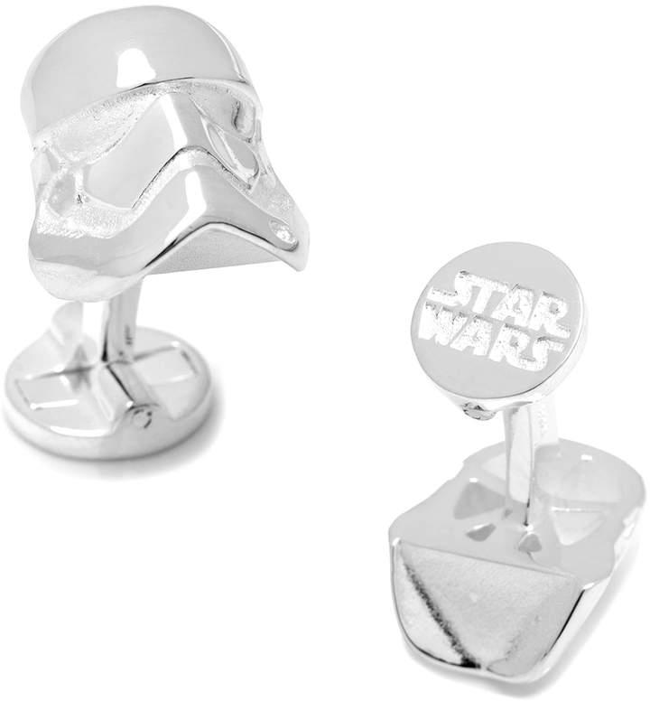 Star Wars Sterling Silver 3-D Stormtrooper Cufflinks