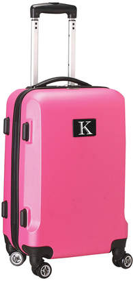 """ABS by Allen Schwartz Mojo Licensing 21"""" Carry-On Hardcase Spinner Luggage - 100% With Letter K"""