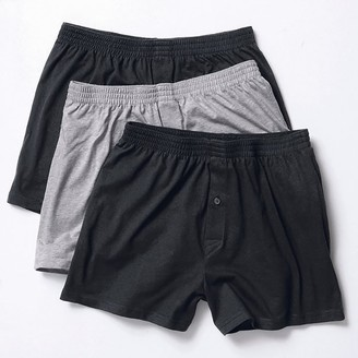 COLLECTIONS PLUS Pack of 3 Boxer Shorts