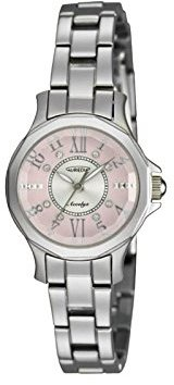 Aureole [オレオール アクセリーゼ13面カットガラス3針クォーツ レディース腕時計 SW-574L-4