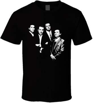 Perfect Fit T Shirts Goodfellas Classic Gangster De Niro Movie T Shirt XL
