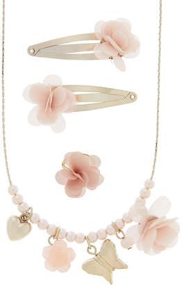 Monsoon Pretty Flower Charm Jewellery Set