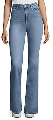 Hudson Jeans Women's Tom Cat High-Rise Flared Jeans