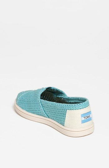 Toms 'Classic - Tiny' Perforated Slip-On (Baby, Walker & Toddler)
