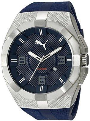19caa0204b Puma (プーマ) - Pumaメンズpu103921001 Iconic Sアナログ表示クォーツブラック腕時計