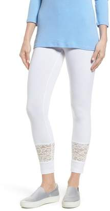 Hue Lace Block Skimmer Leggings