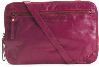 Leather Long Handle Satchel