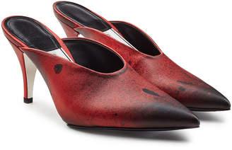 Calvin Klein Roslynn Leather Mules