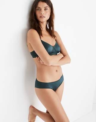 Madewell Satin Cheeky Bikini