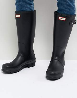 Hunter tall wellies in black