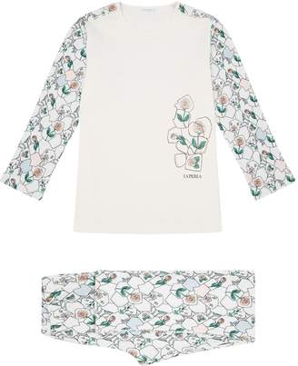 La Perla Floral Mosaic Pyjama Set