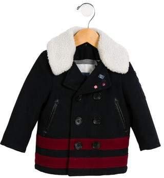 Ikks Boys' Double-Breasted Coat