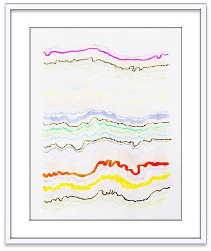Still News – Kristi Kohut – 40″L x 28″W x 1.3″D Art