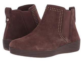 FitFlop Superchelsea Suede Boot w/ Studs Women's Boots