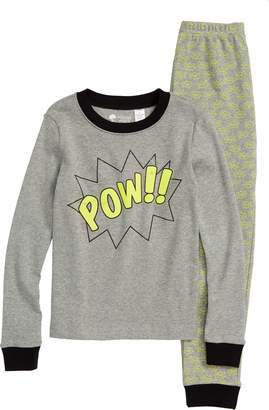 Tucker + Tate Glow in the Dark Two-Piece Fitted Pajamas