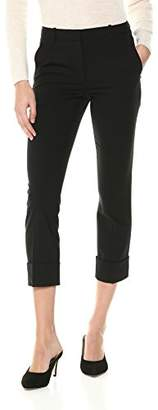 Theory Women's Cropped Cuff Pant, 4