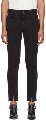 Givenchy Black Slit Jeans