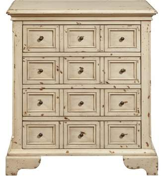 Generic White Distressed Drawer Chest