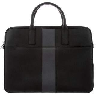 Jack Spade Bicolor Leather Briefcase