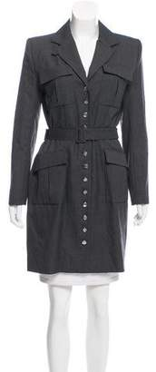 Christian Dior Wool Pinstripe Jacket
