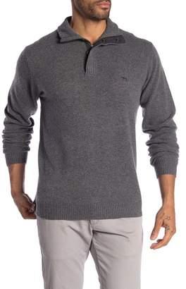 RODD AND GUNN Cape Rodney Lambswool Quarter Zip Sweater