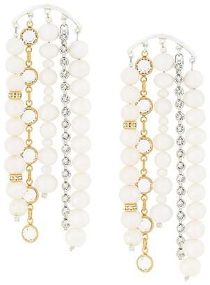 Magda Butrym Swarovski crystal drop earrings