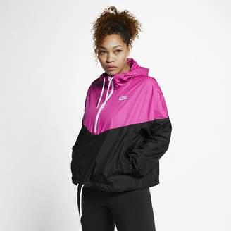 Nike Women's Jacket (Plus Size Sportswear Heritage
