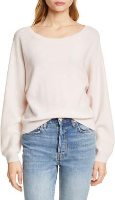 Joie Venidle Wool & Cashmere Boat Neck Pullover