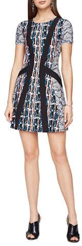BCBGMAXAZRIABcbgmaxazria Aleah Paisley Print Dress