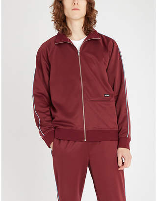 Stussy Relaxed-fit jersey tracksuit jacket