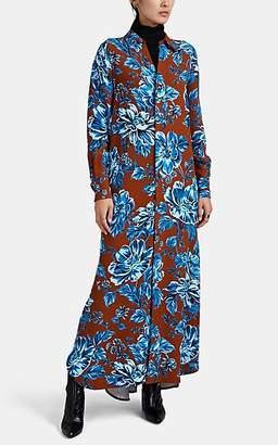 Ami Alexandre Mattiussi Women's Oversized Floral Shirtdress