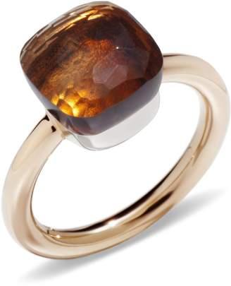 Pomellato Nudo Madeira Quartz Classic Ring