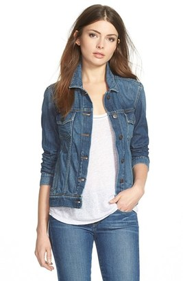 Women's Paige Rowan Denim Jacket $209 thestylecure.com