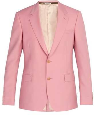 Alexander McQueen Wool Blend Suit Jacket - Mens - Light Pink