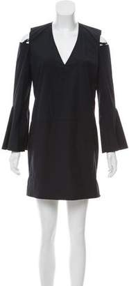 Derek Lam Cutout Long Sleeve Dress