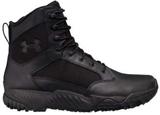 """Under Armour Stellar 8"""" Side Zip Tactical Boots Black"""