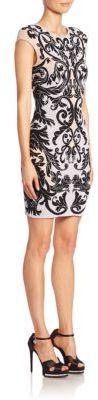 Alexander McQueen Caravan Jacquard Knit Dress $1,435 thestylecure.com