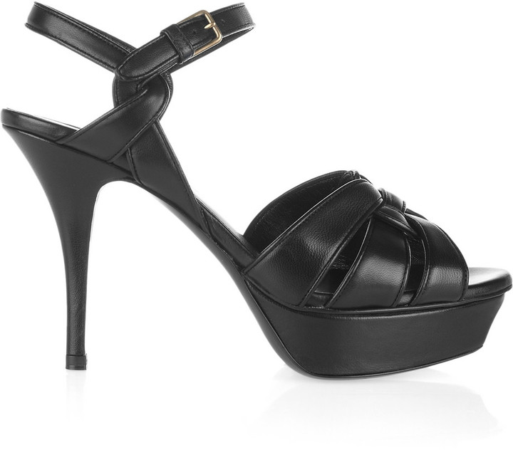 Yves Saint Laurent Tribute leather sandals