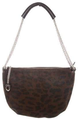 Salvatore Ferragamo Ponyhair Chain Bag black Ponyhair Chain Bag