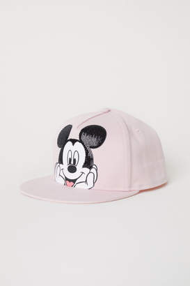 H&M Cap with Sequins - Pink