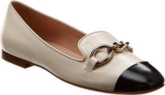 Tod's Bicolor Leather Ballerina Flat