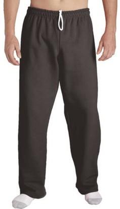 Gildan Big Mens Open Bottom Pocketed Jersey Pant, 2XL