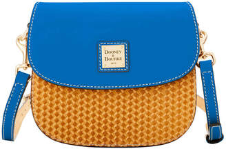 Dooney & Bourke Beacon Woven Saddle Crossbody