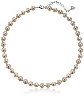 Anne Klein Women's Pearl Collar Necklace